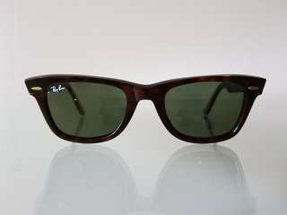Ray-ban Wayfarer tortoise shell (green glass)