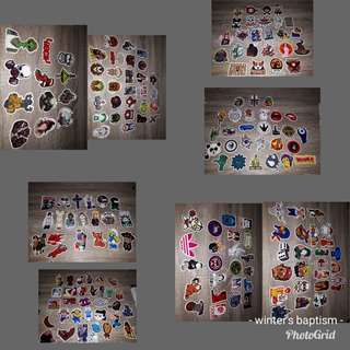 Take all stickers 300 + pieces