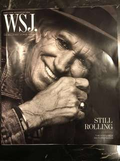 Still Rolling - The Invincible Keith Richards (The Wall Street Journal Magazine March 2018 issue)