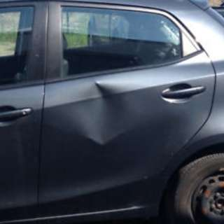 Car Dent Repair - Accident collision - repair car body