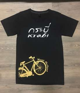Krabi Thailand Women Black T-shirt
