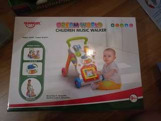 Multi function baby walker