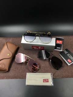 Rayban Sunglasses RB3584N 61MM RAY BAN BRAND NEW FULL PACKAGES ORIGINAL   BLAZE AVIATOR