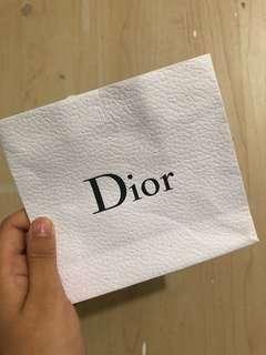 Dior紙袋
