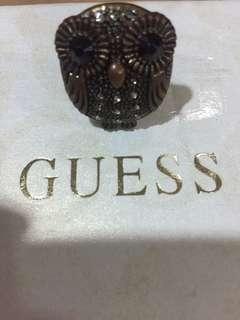 Adjustable Owl Ring