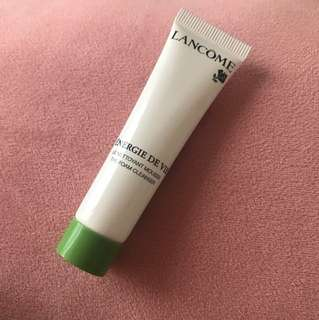 Lancome the foam cleanser