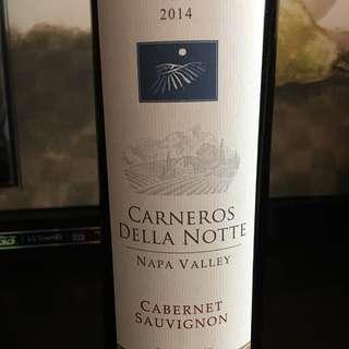 2014 Carneros Della Nott, Napa Valley, Cabernet Sauvignon
