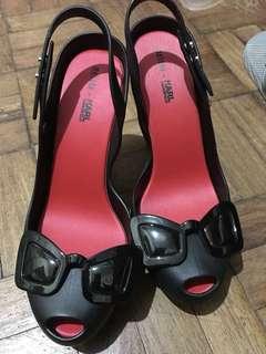Melissa -karl lagerfeld ultra heels black in black