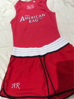 American Rag sleeveless and skort set