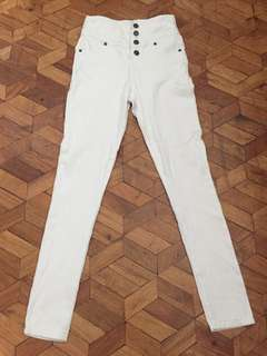 Japan white pants