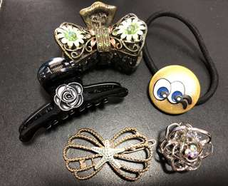 Assorted Hair Clips & Bands