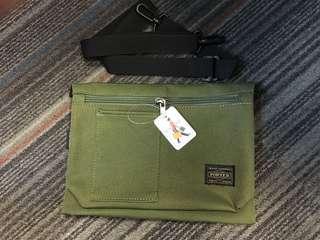 軍綠Porter 包(18x24cm)
