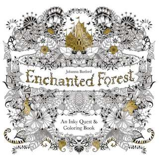 Coloring book - Enchanted Forest