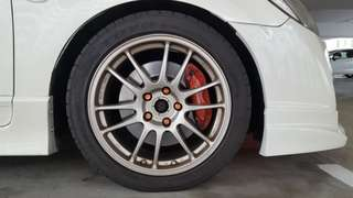 ORIGINAL ENKEI GTC 01 Wheels