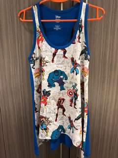 Authentic Disneyland HK sando or sleeveless for ladies