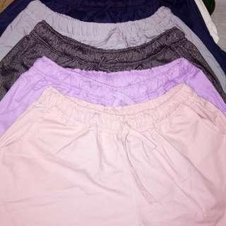 Plus size walking shorts