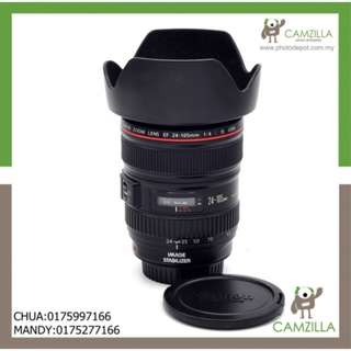 USED CANON LENS EF 24-105mm 1:4 L IS USM