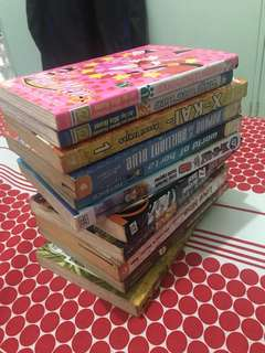 Assorted Manga Comics For Sale