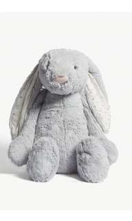 Jellycat Exclusive Bashful Twinkle Bunny Soft Toy (Huge: 51cm)