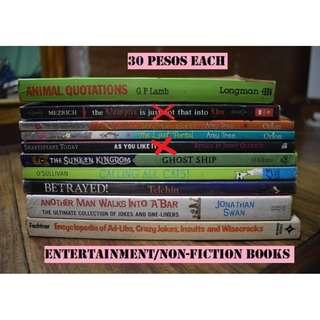 BOOKS FOR 30 PESOS