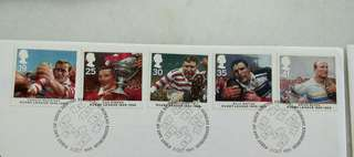 Great Britain UK England Rugby League Stamps & Special Postage #1