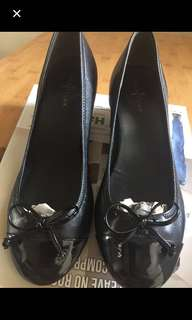 Black Cole Haan ballet wedge style size 7.5 78%off sale!
