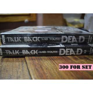 Talk Back and You're Dead Set (Book 1 & 2)
