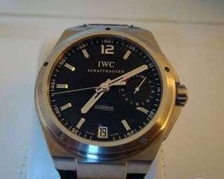iWC  Big ingiuer 7Day錶帶有點殘