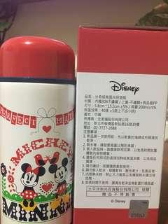 迪士尼 米奇&米妮保溫瓶