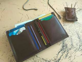 Customize Simple Vertical Wallet*free name emboss
