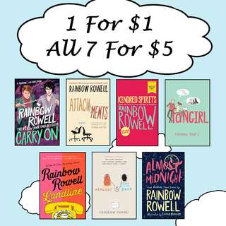 Rainbow Rowell eBooks