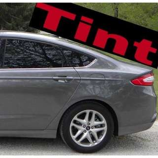 Window tinting @car service