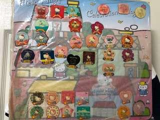 🚚 Hello Kitty 凱蒂貓30週年紀念磁鐵組