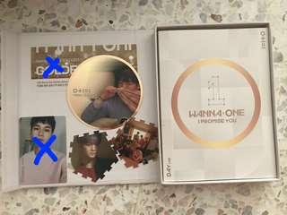 WANNA ONE 2nd Mini Album DAY VERSION