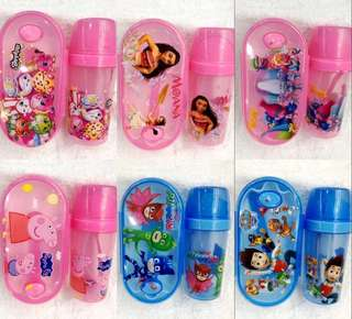 PO Lunch Box w water bottle set