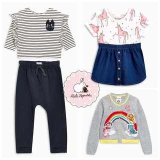 KIDS/ BABY - Top/ Legging/ Dress/ Cardigan/ set