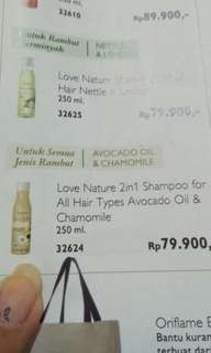 Shampoo oriflame