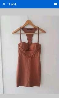 paradisco tan dress 8