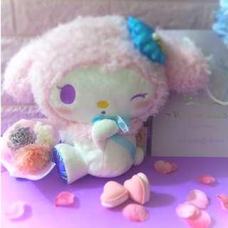 粉紅 Melody 公仔+康乃馨保鮮花小花束 禮物套裝 gift set 母親節禮物