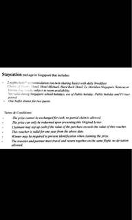 Staycation Voucher MBS
