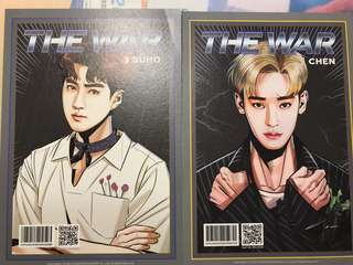 Exo suho Chen power card