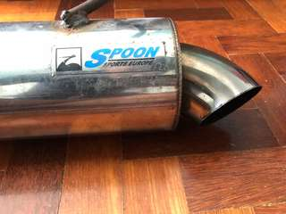 J's Racing/SPOON muffler