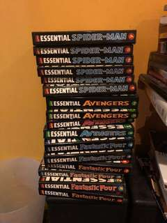 Marvel Comics Essential Collection!