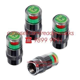 Toyota Hiace - Regiusace - Nissan NV200 - Nissan NV350 Van - Universal Tire Air Pressure Monitor Valve Cap Gauge Alert Indicator / Toyota - Nissan Accessories