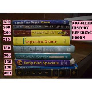 ASSORTED BOOKS FOR SALE [CHEAP BOOKS]