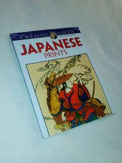 "Creative Haven ""Japanese Prints"" Coloring Book"