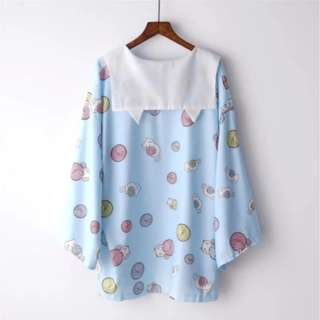 [BNIP] Cat Ears Kimono Cardigan