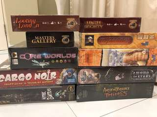 Boardgames (New and Used)