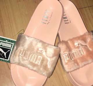 brand new authentic rihanna fenty slides
