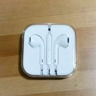 Authentic New In-Ear White Headphone Earphone Volume Control Mic for iPhone 7